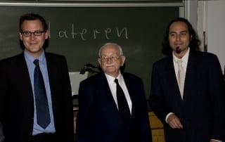 Dr. Christian Wild, Prof. Dr. Werner Grüter, Dipl.-Geologe Philipe Havlik